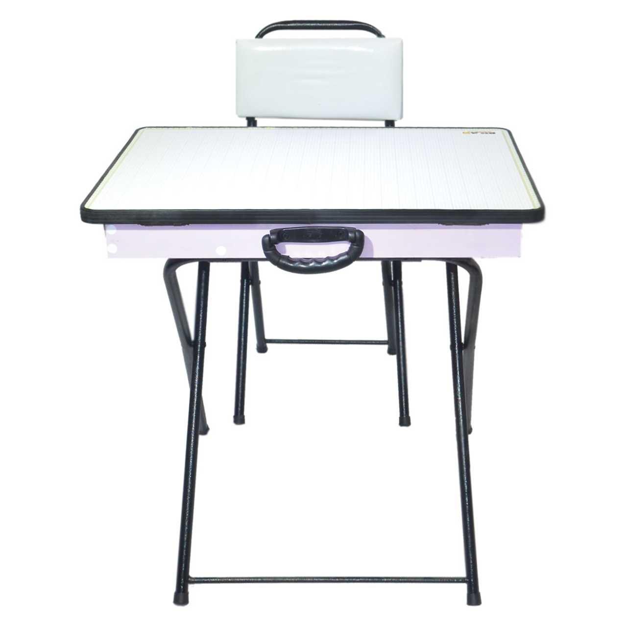 میز و صندلی  تحریر تاشو بیلن مدل M1-طرح ساده
