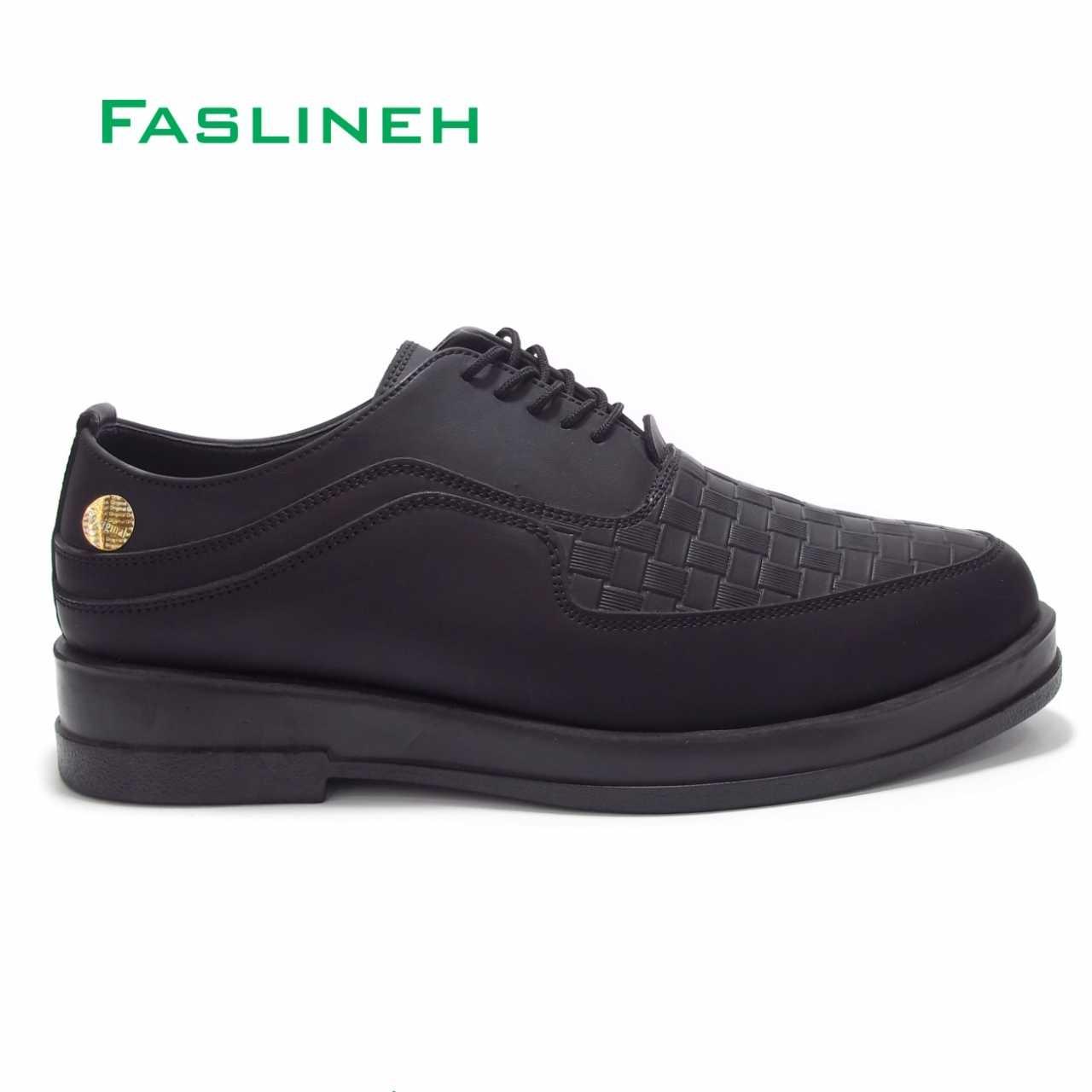 کفش اسپرت فرمال بندی مشکی مدل ALF1