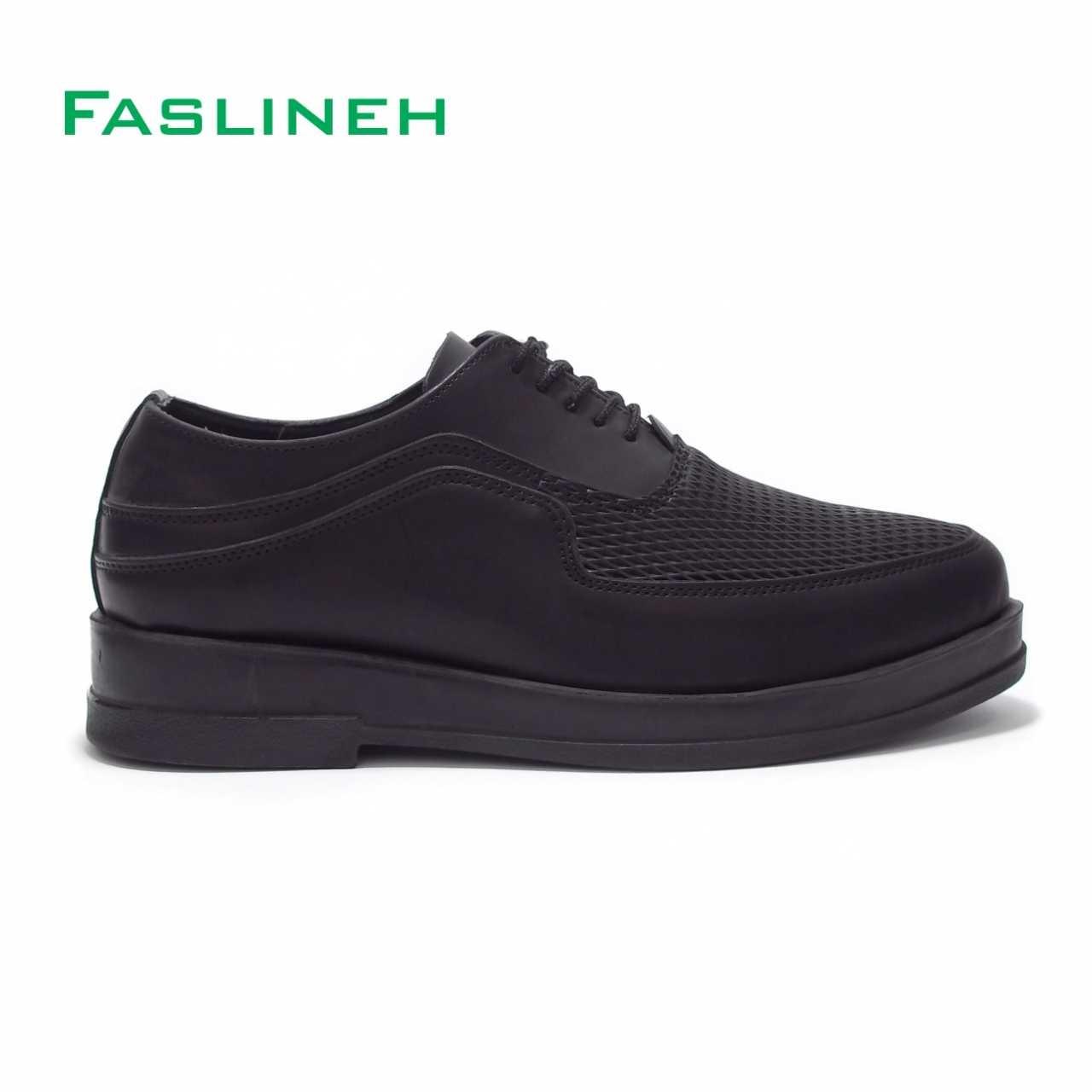 کفش اسپرت فرمال بندی مشکی مدل ALF2
