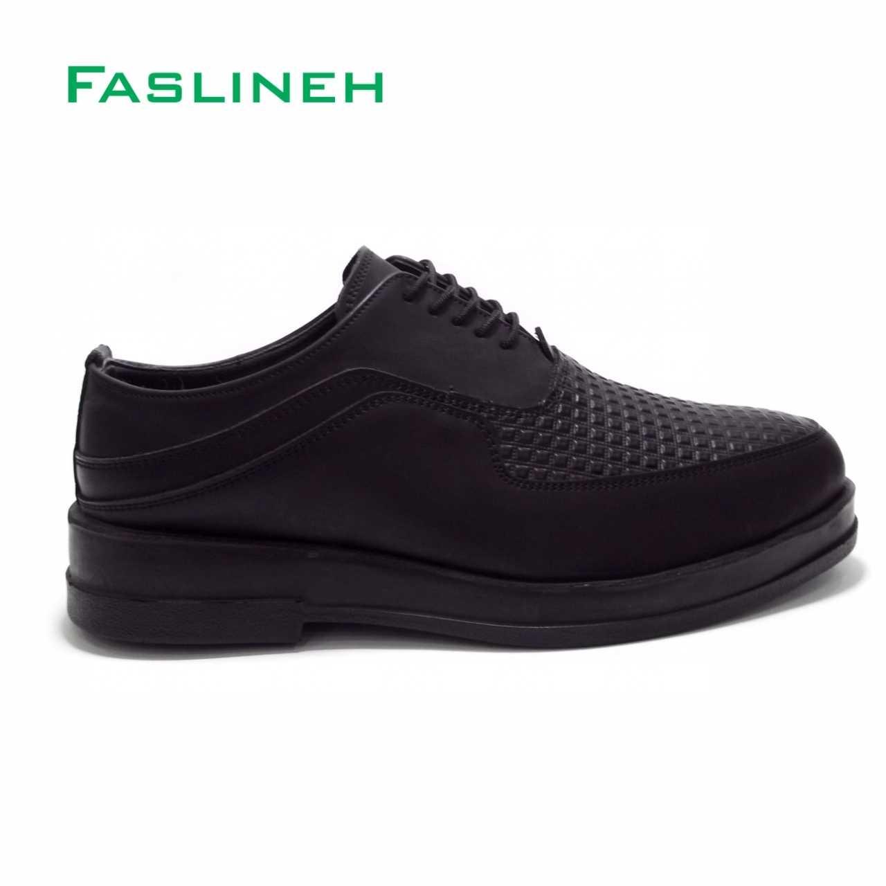 کفش اسپرت فرمال بندی مشکی مدل ALF3