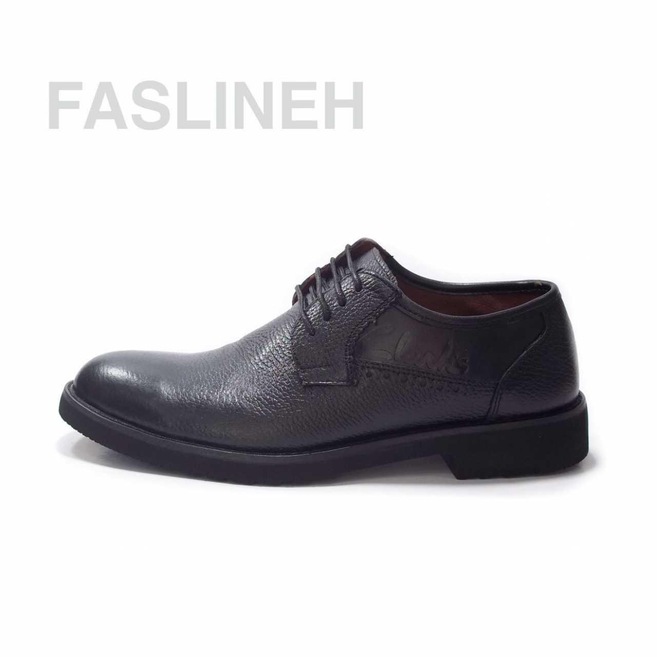 کفش چرم رویه ساده طرح اکو ES136