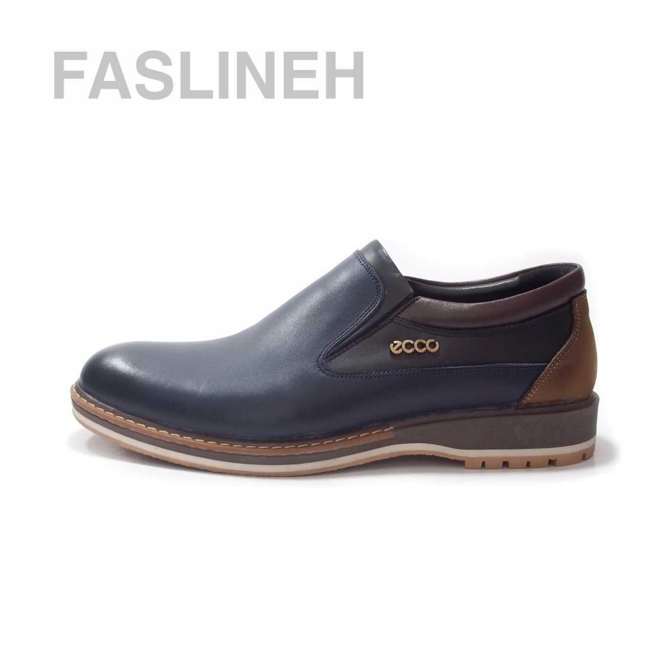 کفش چرم اکو مدل ES0123