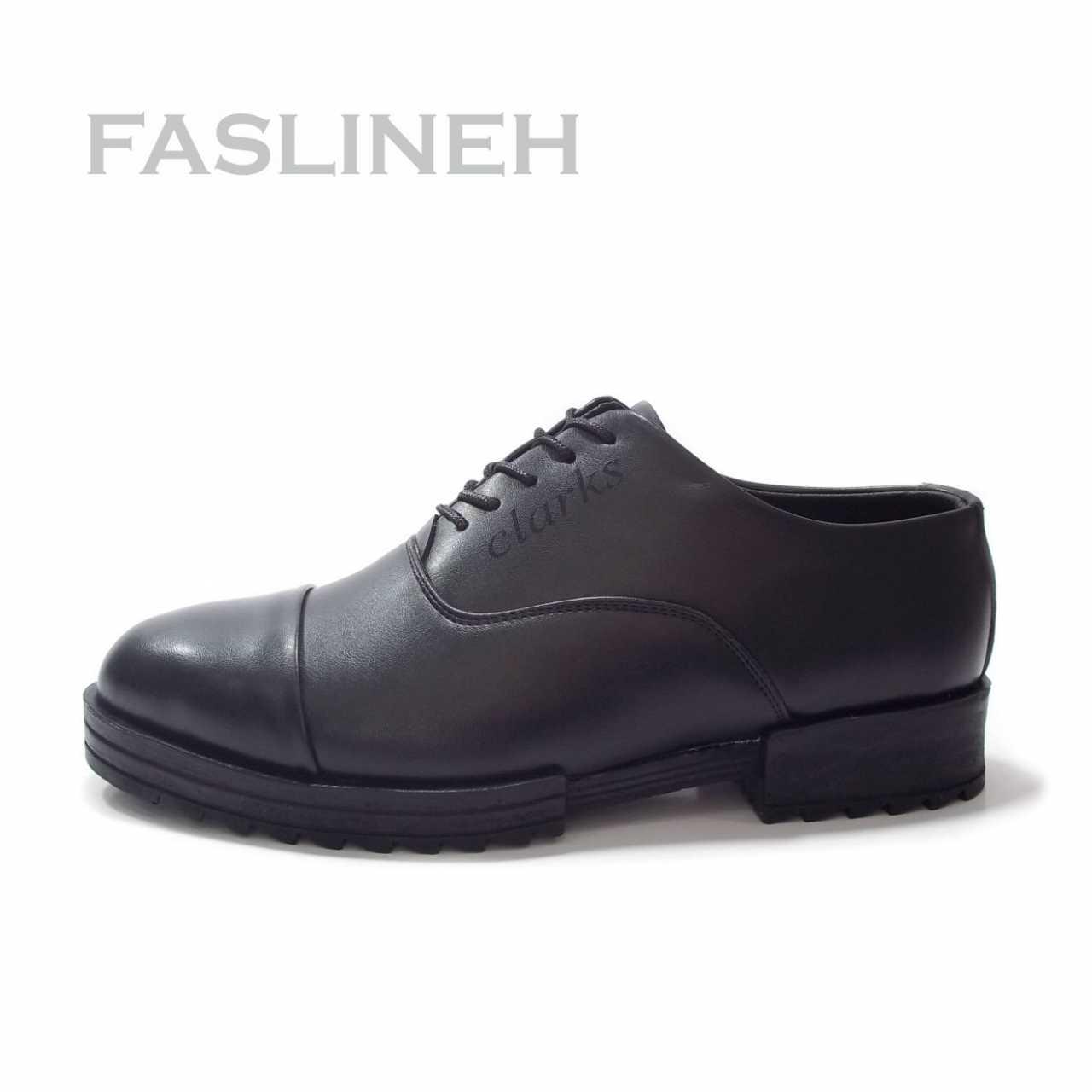 کفش اسپرت مشکی طرح کلارک مدل CLB 157