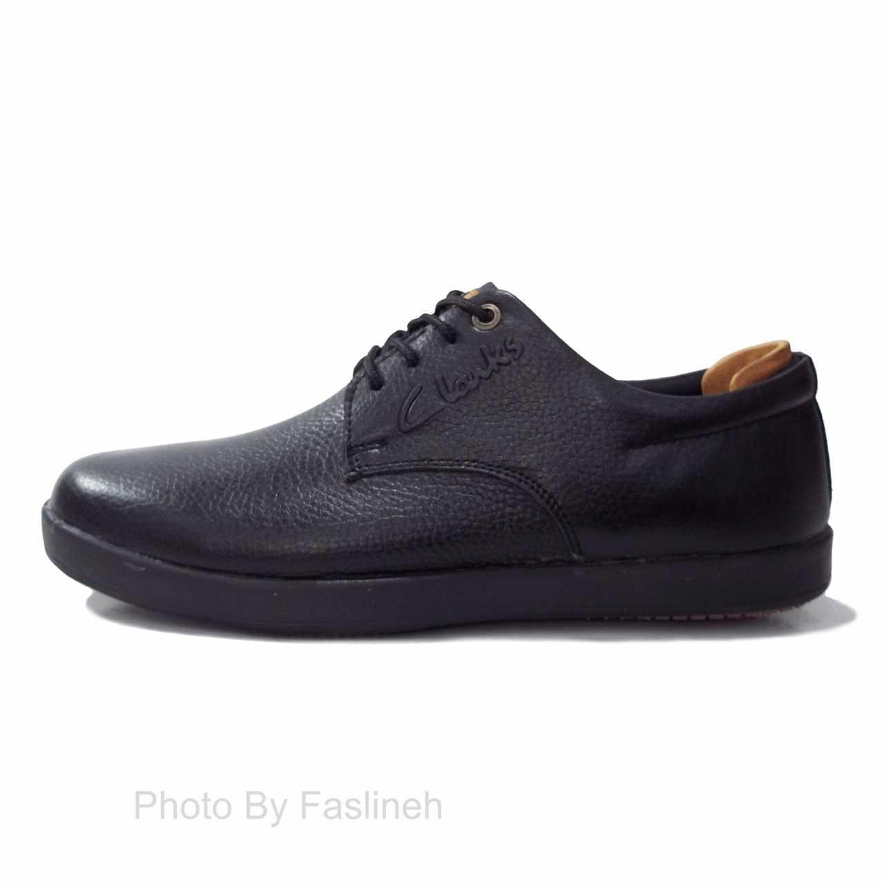 کفش چرم پالرمو مشکی