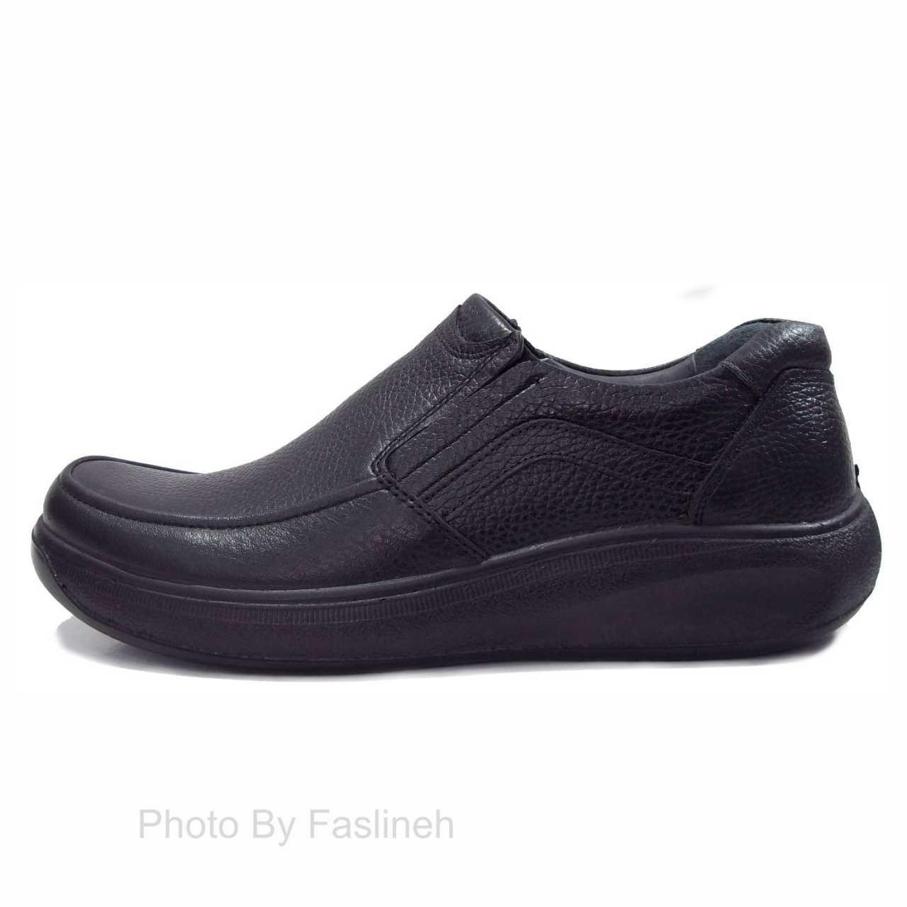 کفش چرم طبی ساعتی خلیج k87
